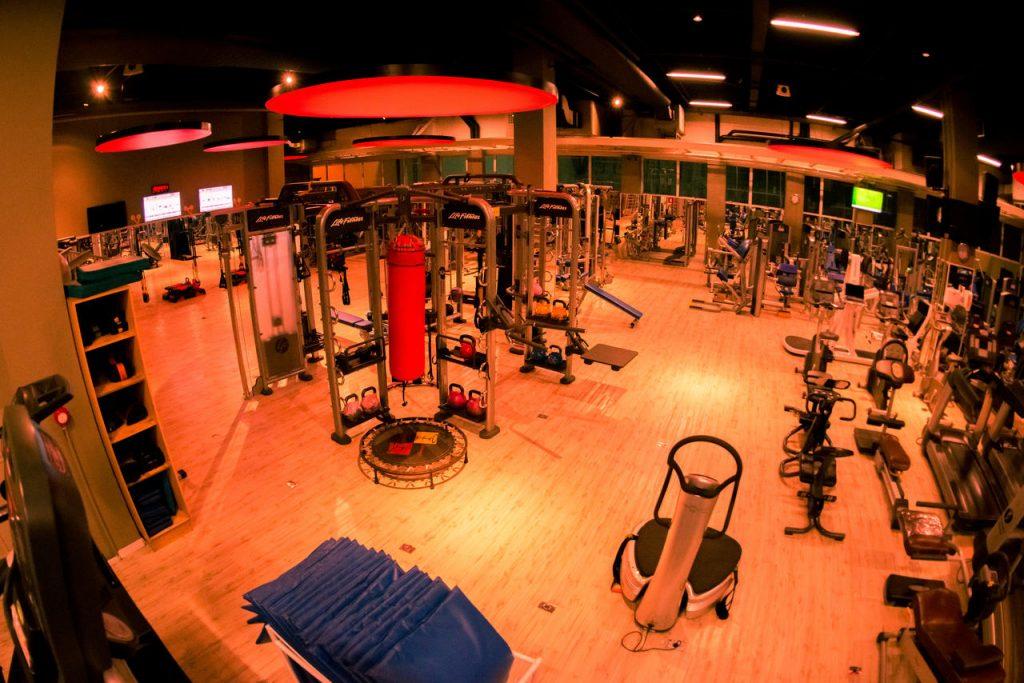 Musculação: sala completa