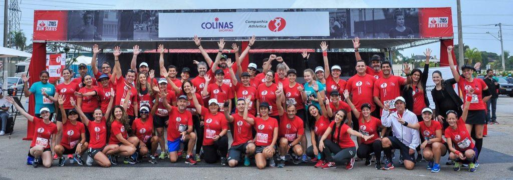 Grupo de corrida Cia Athletica SJC