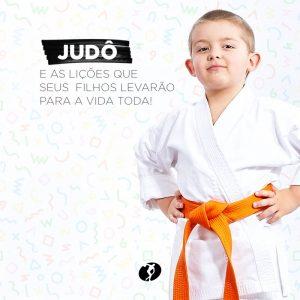 Atividades para crianças: judô.