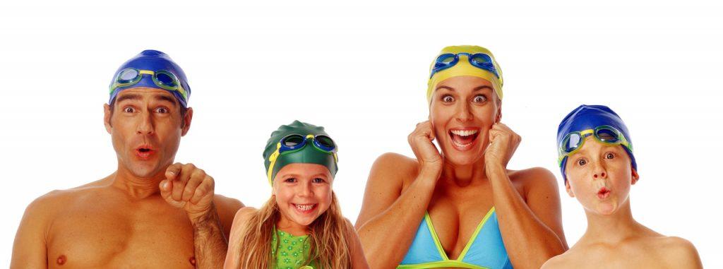Family Swim: venha nadar com a sua família aos domingos e feriados!