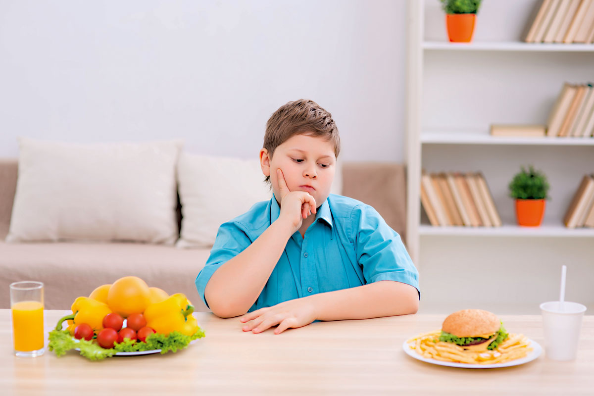 Obesidade infantil alguém me ajuda