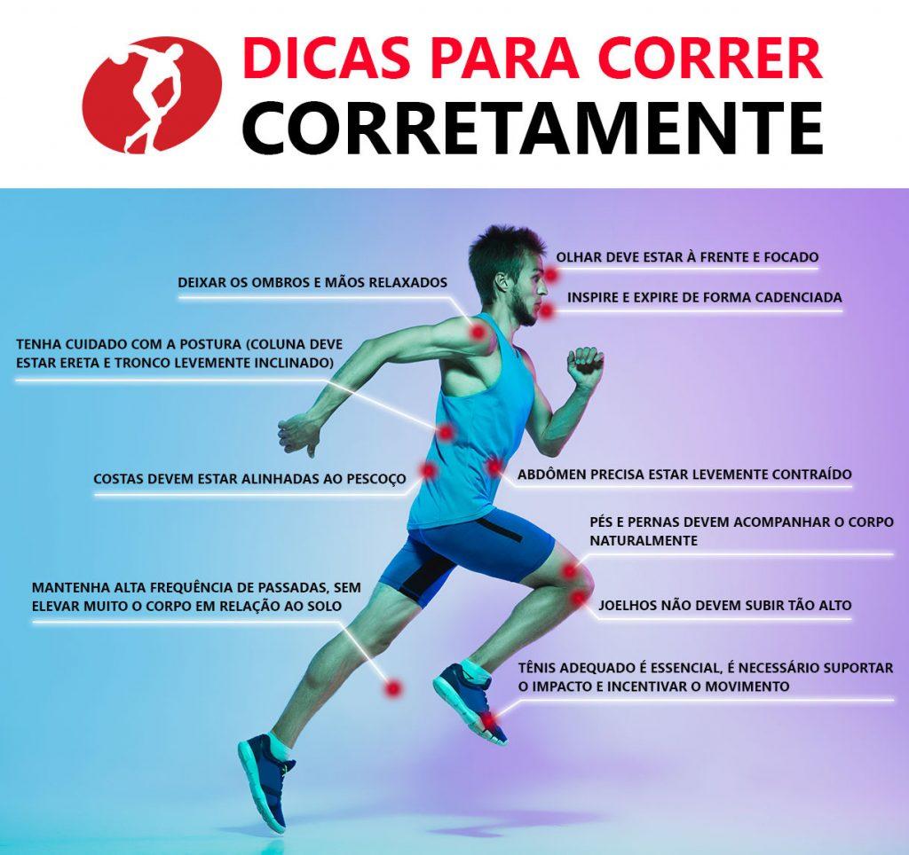 A corrida é um dos melhores esportes, mas é preciso saber como correr corretamente. Saiba todos os cuidados para não comprometer a saúde.